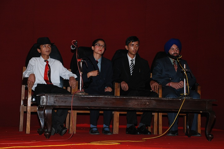 HP University Model School-Skit