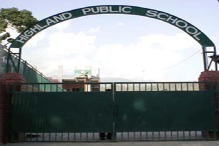 Highland Public School-Entrance-View