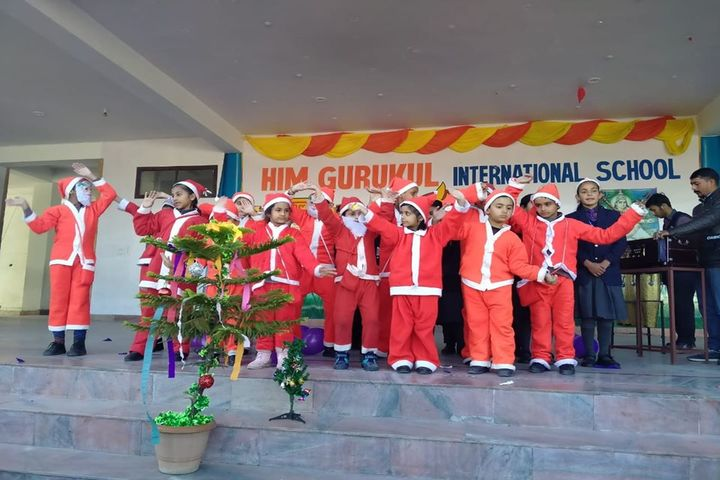 Him Gurukul International School-Christmas Celebration