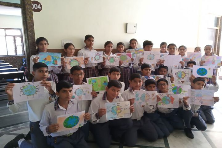 Him Gurukul International School-Drawing Competition