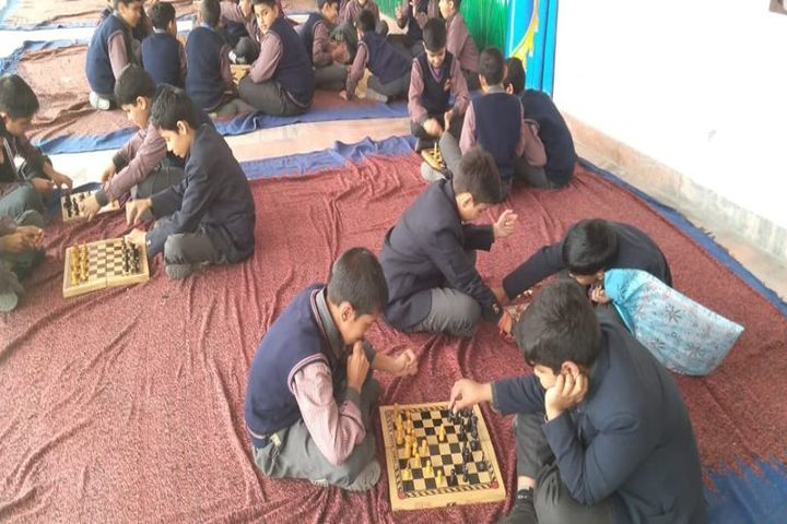 Him Gurukul International School-Indoor Games