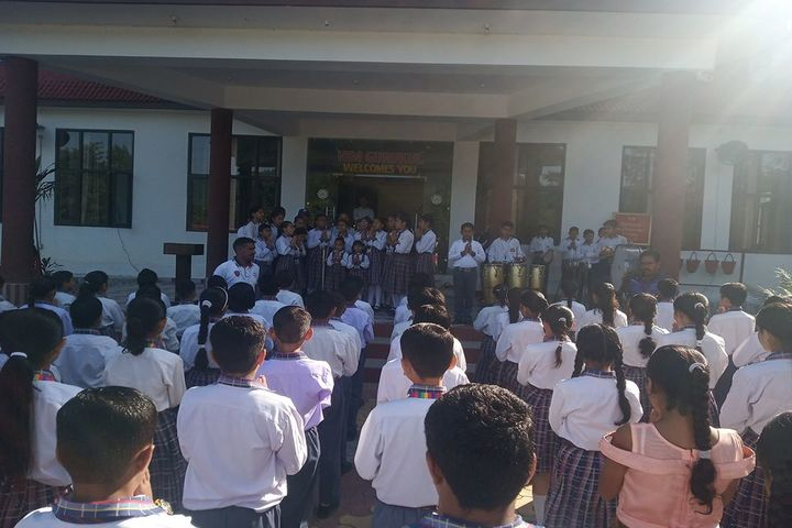 Him Gurukul International School-Morning Assembly