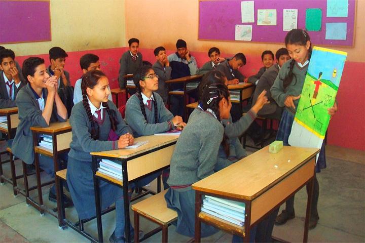 Holy Angels School-Classroom