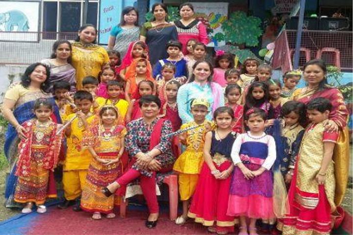 IB DAV Public School-Janmashtmi Celebrations