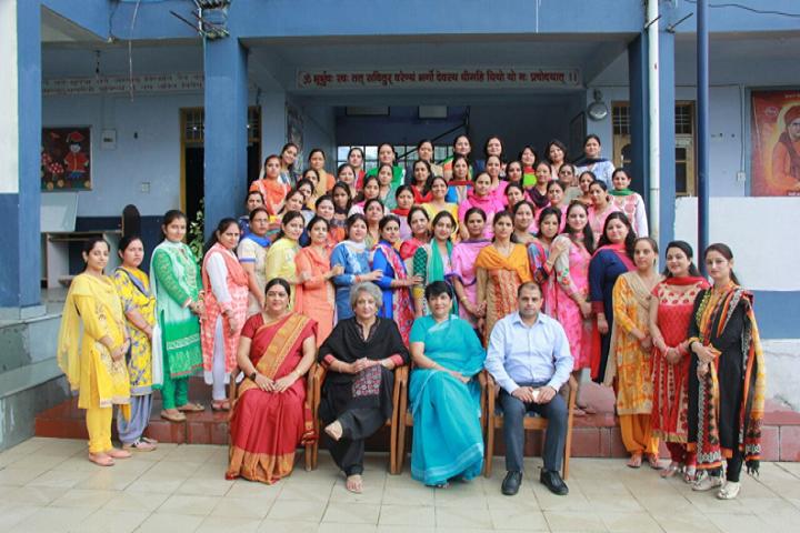 IB DAV Public School-Staff Photo