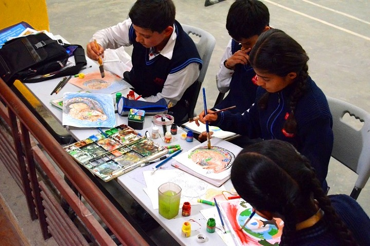 Ivy International School-Art Craft