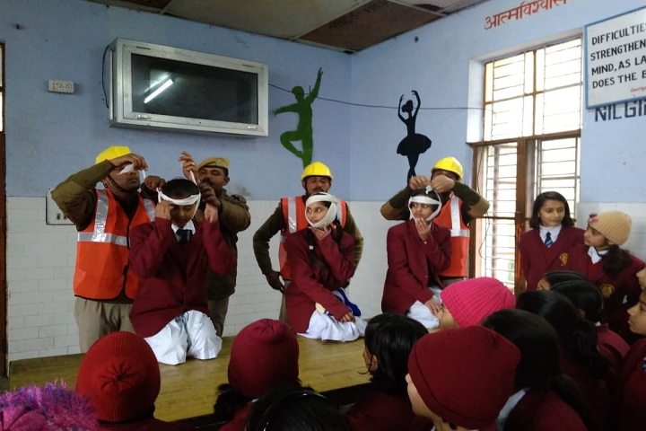 Jawahar Navodaya Vidyalaya-Mock Drill