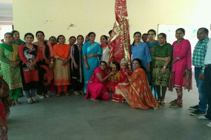 K C Public School-Janmastami-Celebration