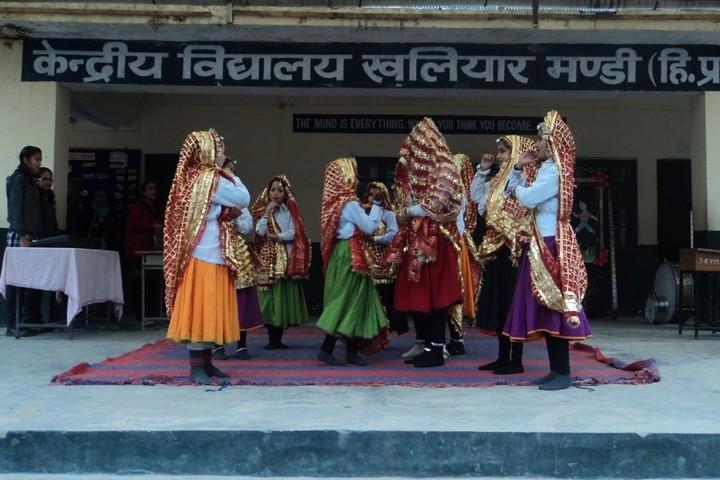 Kendriya Vidyalaya-Dancing Activity