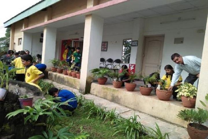 Kendriya Vidyalaya-Tree-Plantation