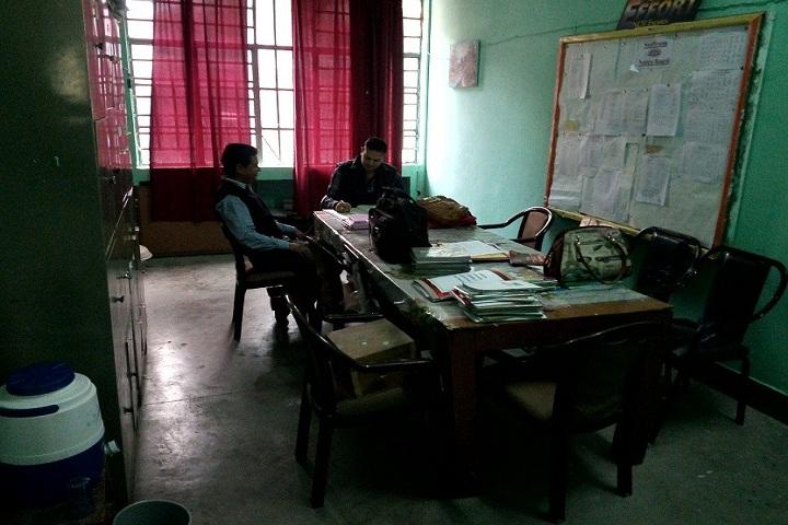 Kendriya Vidyalaya-Staff-Room