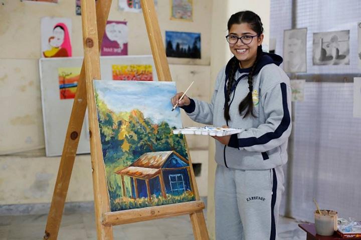 Laureate Public School-Art Craft