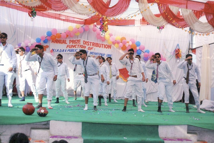 M I A DAV Public School-Events