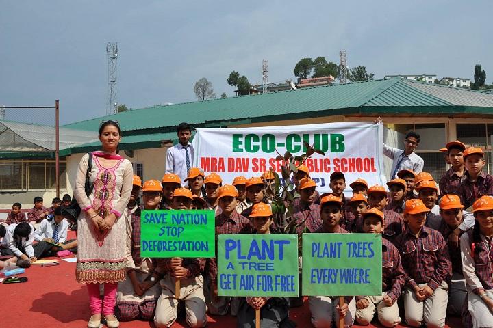 M R A D A V Publilc School-Eco Club