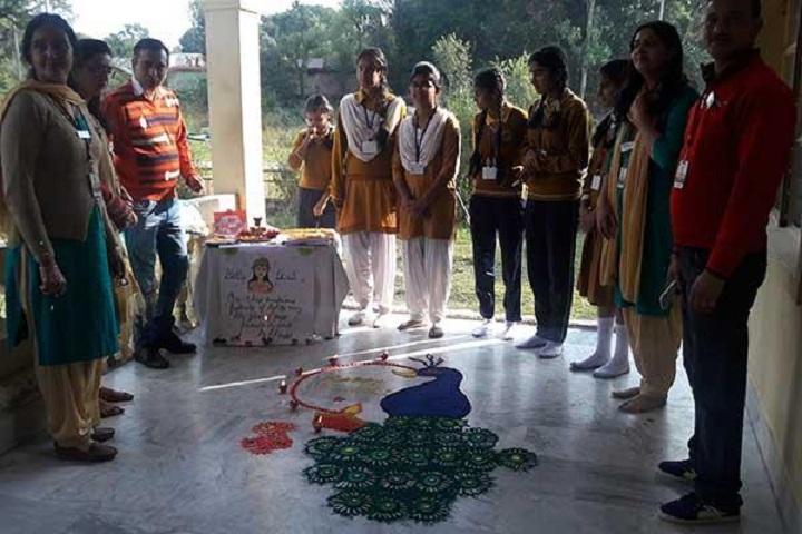 Maharishi Vidya Mandir Public School-Rangoli