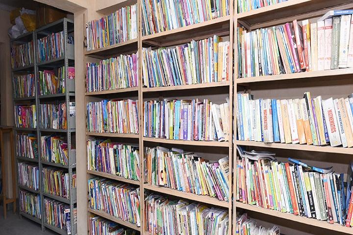 Mahavir Public School-Library