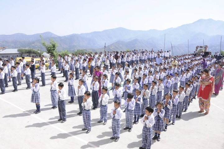 Mount Shivalik Public School-Assembly