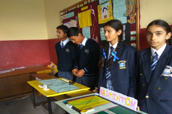 Mount Shivalik Public School-Science Exhibition