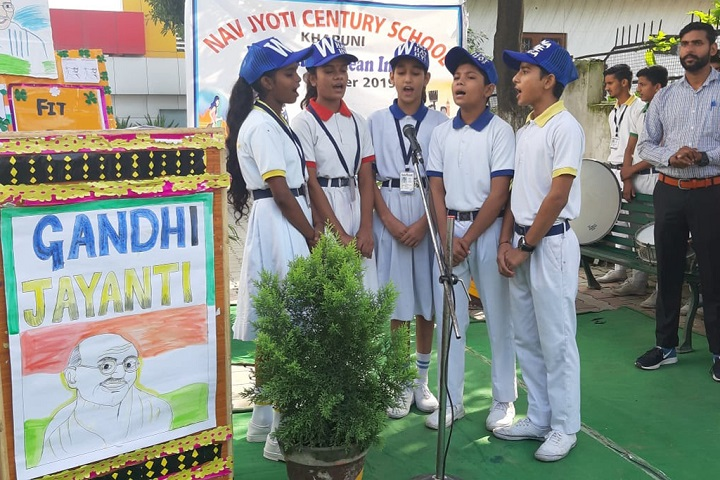 Navjyoti Century School-Group Singing