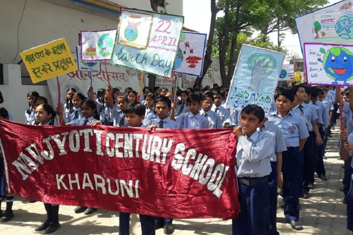 Navjyoti Century School-Rally