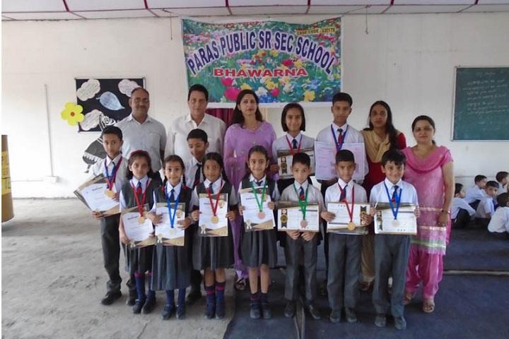 Paras Public School-Achievement
