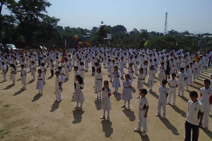 Paras Public School-Assembly