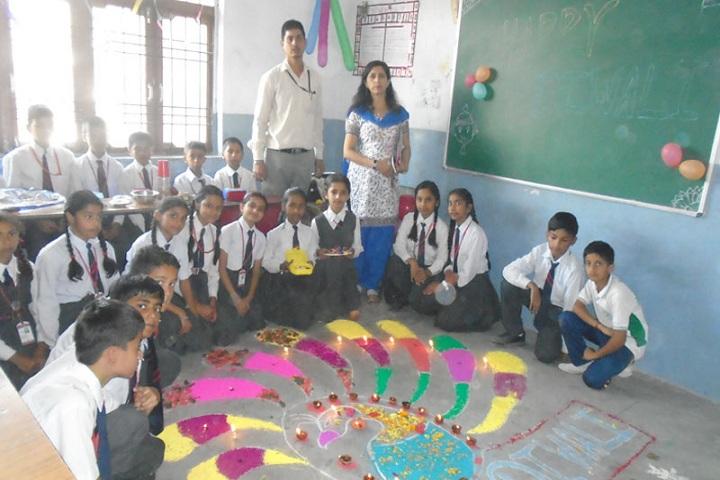 Paras Public School-Rangoli