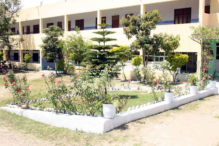 Parmar International School-Front-View