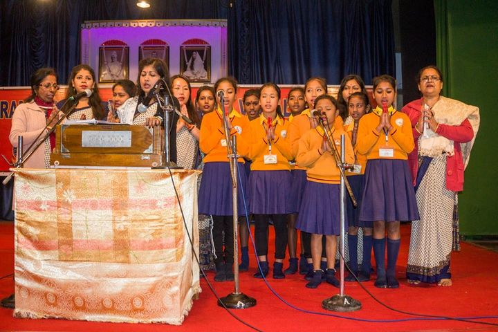 Ramakrishna Mission School-Group song