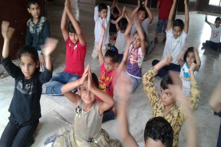 RK International School-Yoga Day