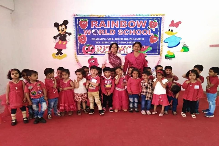 Rainbow World School-Red Day