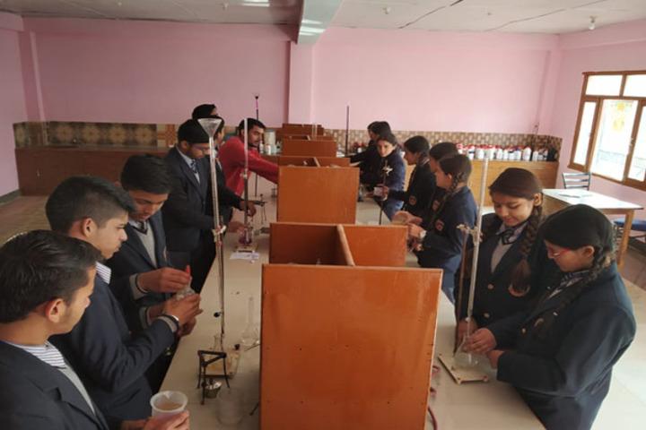 Ramanujam Royal Convent School-Chemistry Lab
