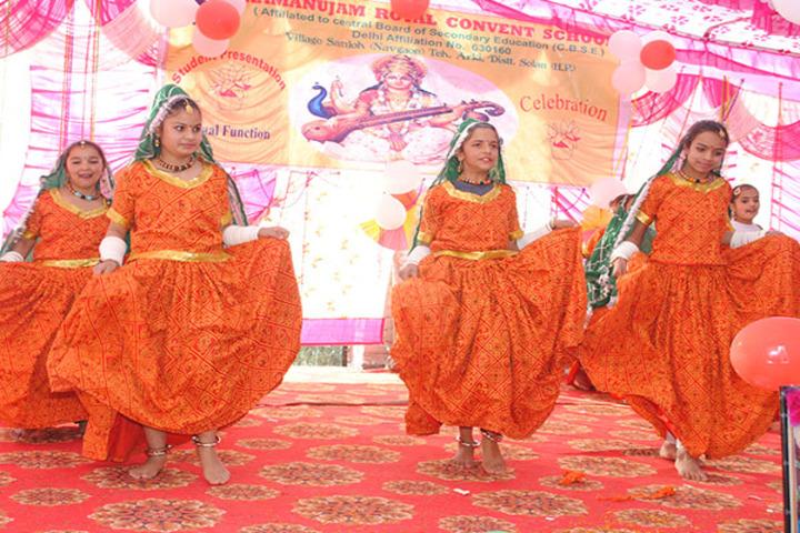 Ramanujam Royal Convent School-Dance