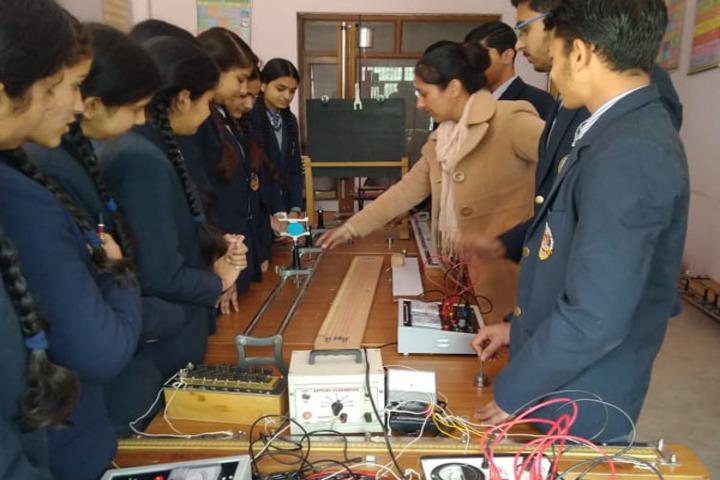 Ramanujam Royal Convent School-Physics Lab