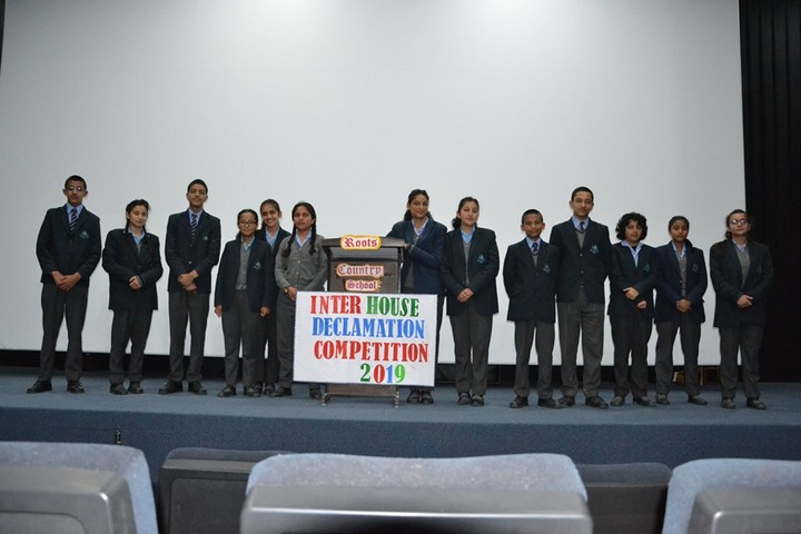 Roots Country School-Decalmation Competition