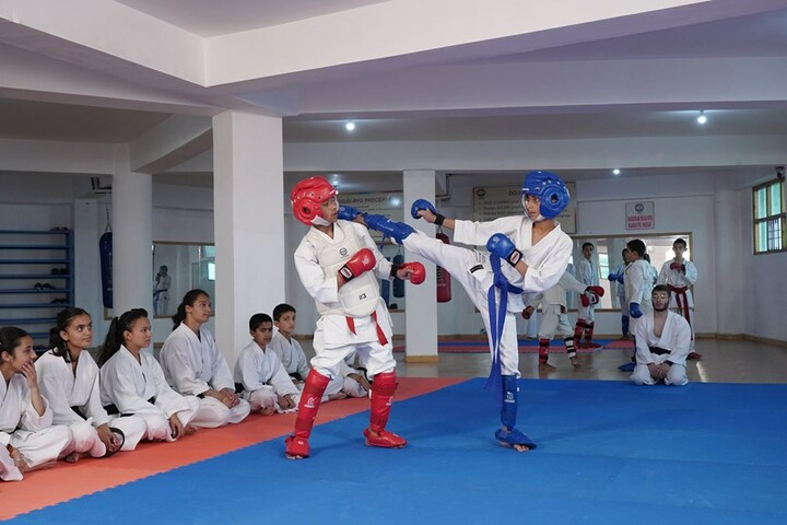 Roots Country School-Karate Activity