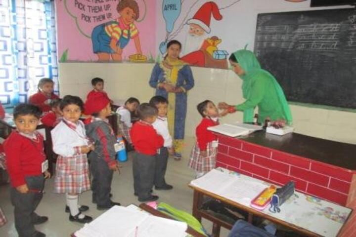 Rudra International School-Medical Facility