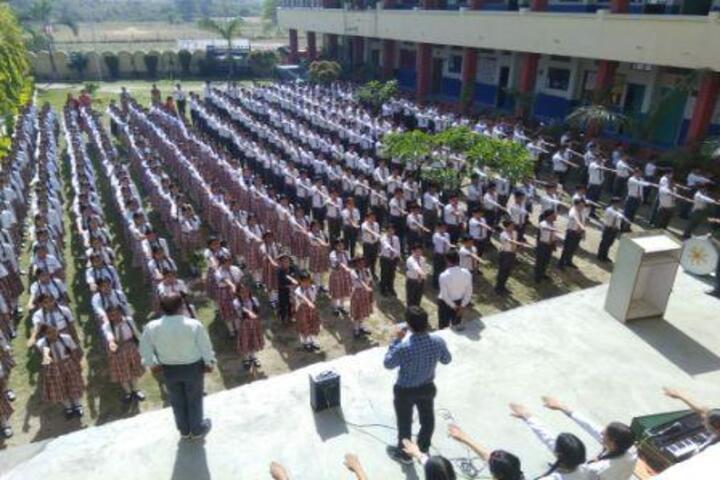 Rudra International School-Morning Assembly