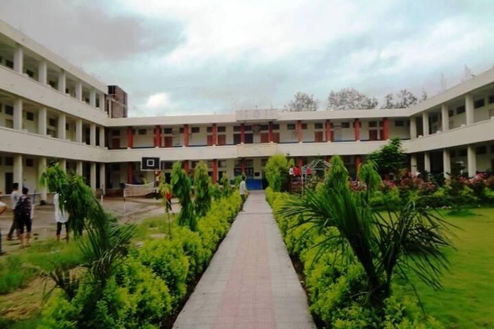 Rudra International School-School View