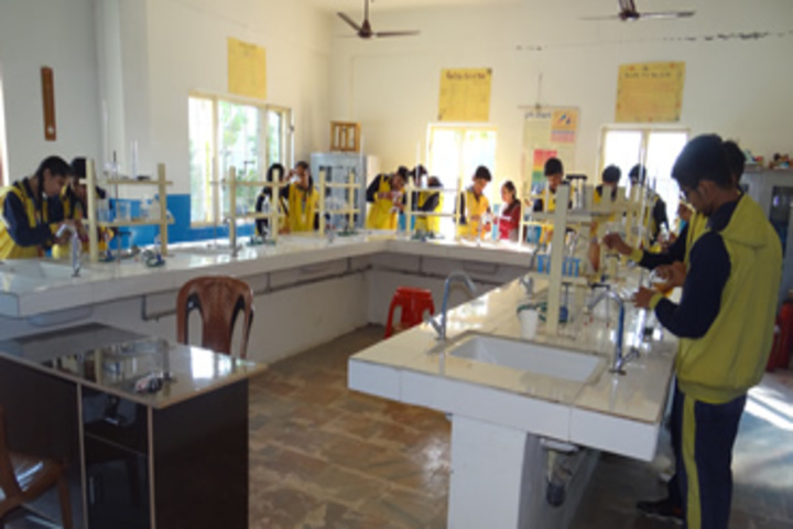 Sacred Soul Cambridge School-Chemistry Lab
