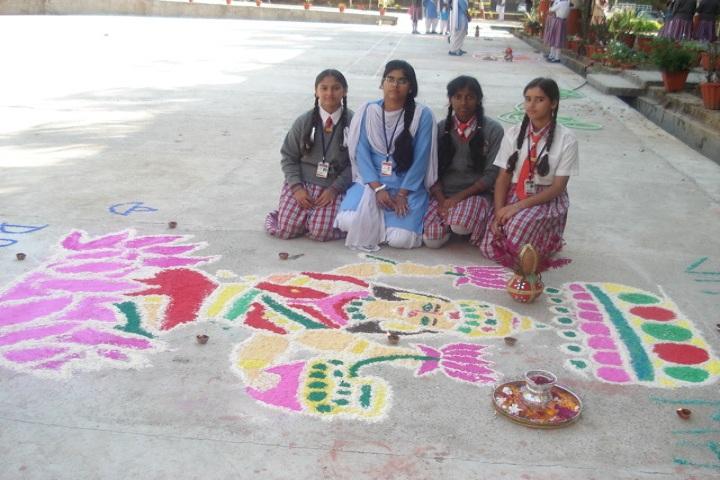 ScholarS International School-Rangoli Competetion