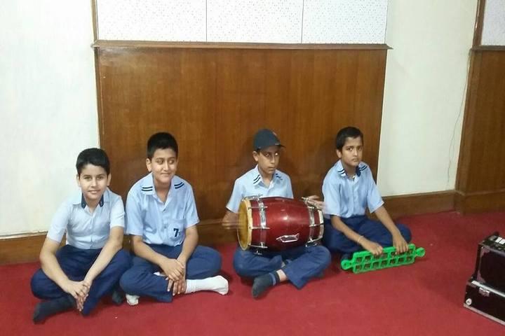 Seven Star Senior Secondary Public School-Music Activity