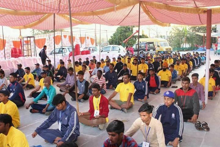 Seven Star Senior Secondary Public School-Yoga Day