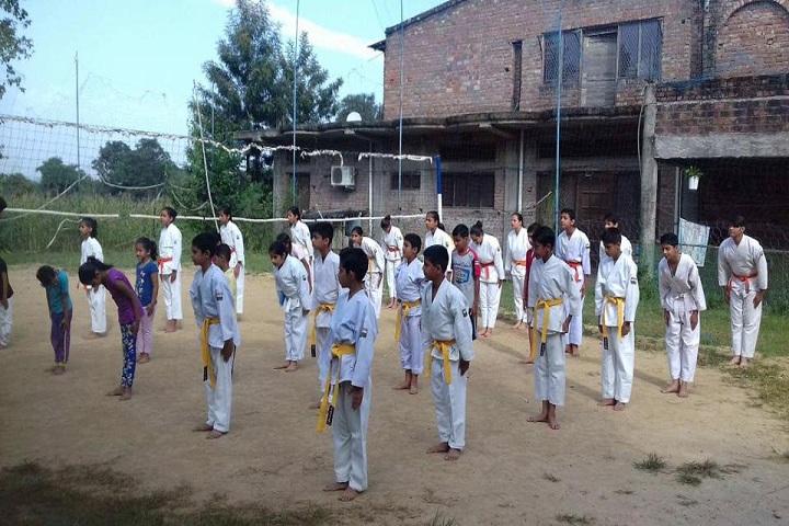 Shanti International Public School-Karate Class