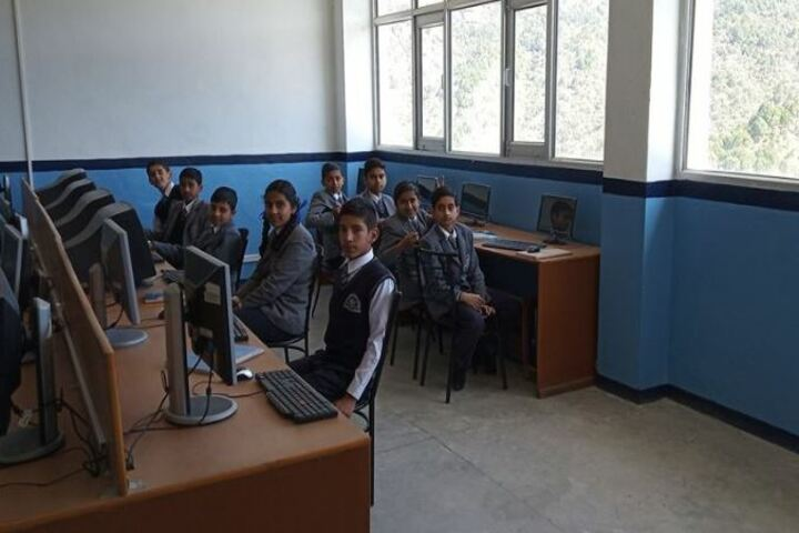 Shimla Presidency School-Computer Lab