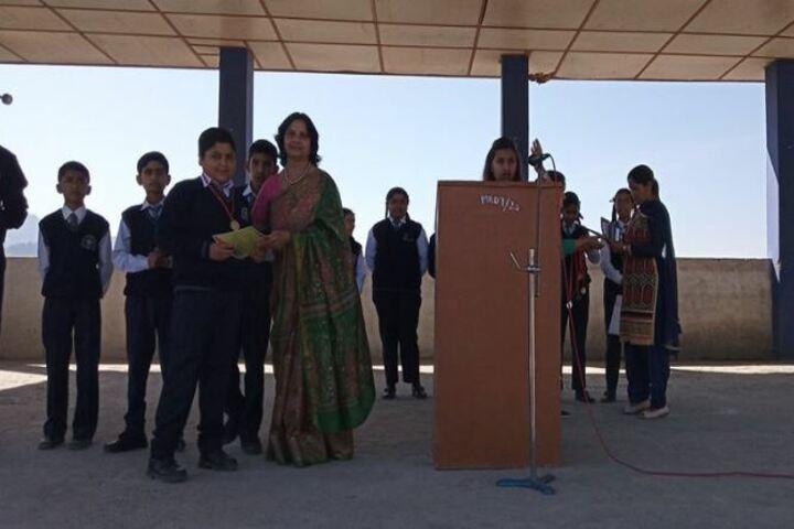 Shimla Presidency School-Speech