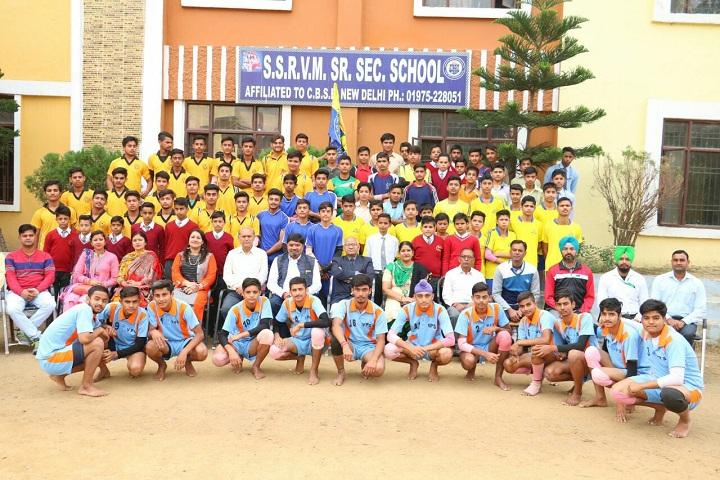 SSRVM Senior Secondary School-Sports Champions