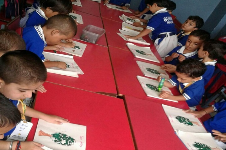 Sunshine Public School-Childens art work