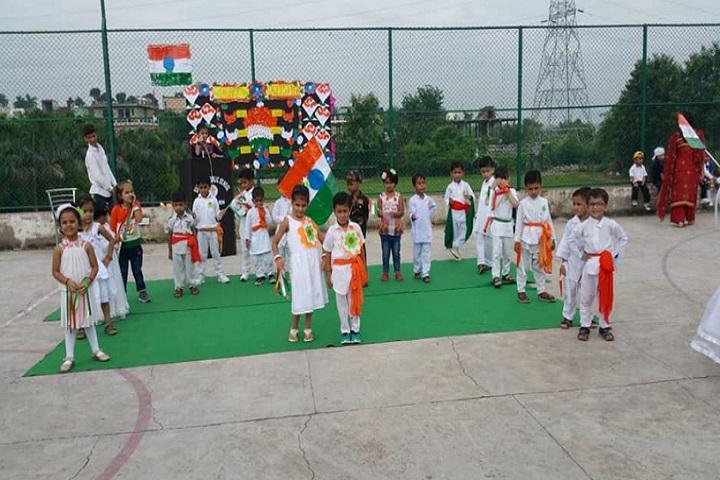 Sunshine Public School-Independence day celebrations