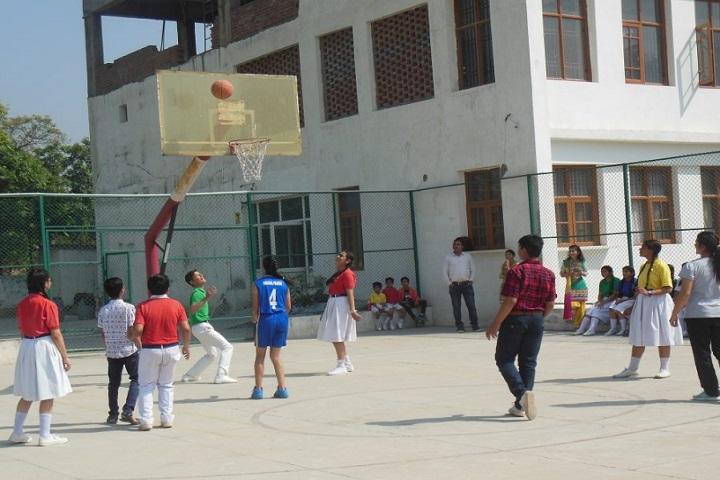 Sunshine Public School-Sports basket ball